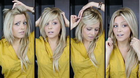 the haircut ways to wear it diy perfect bangs 4 ways tutorial video youtube