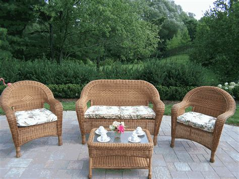 Resin Patio Furniture by Patio Furniture Wicker Furniture Garden Furniture