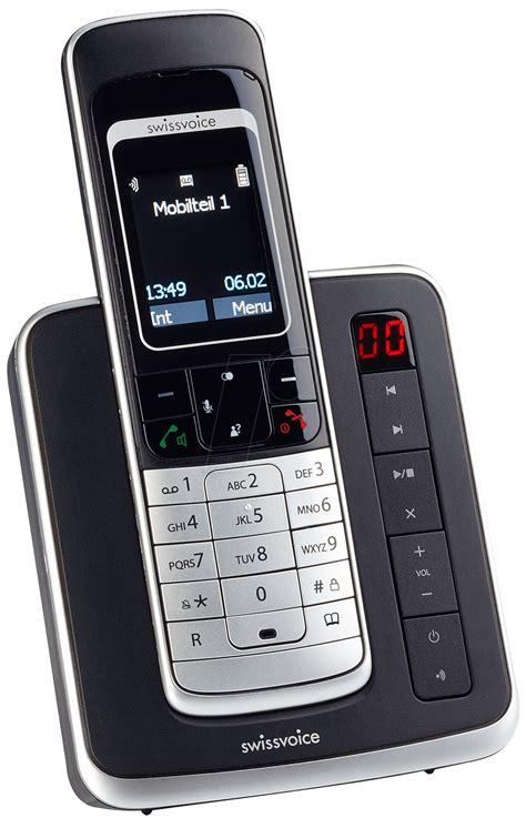 Schnurloses Telefon Mit Ab 805 by Schnurloses Telefon Mit Ab Grundig D350a Schwarz