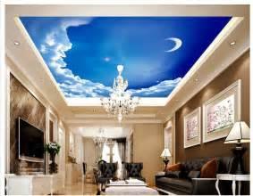 Home Design 3d Ceiling 3d Wallpaper Custom Mural Non Woven European Style Villa