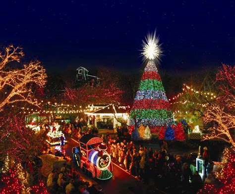 world best christmas city at silver dollar city branson vacation rentals