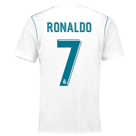 Jersey Madrid Home 2017 ronaldo 7 real madrid home jersey 2017 18 adidas