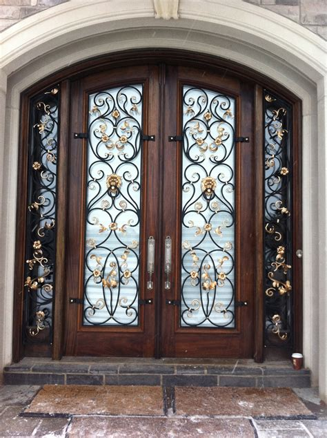 vintage wrought iron doors wrought iron doors design for