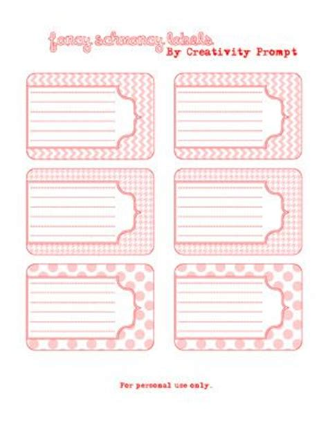 free printable journal labels free printable labels great for advice cards party