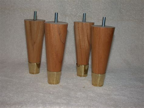 round sofa legs furniture legs 5 1 2 quot round full taper uncle bob s