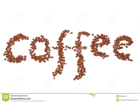 coffee text wallpaper coffee beans text royalty free stock photo image 23910915