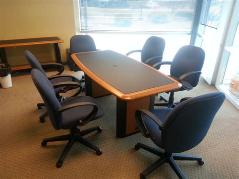 Small Meeting Table Small Conference Table Ameriwood Furniture Altra Furniture Benjamin Small Conference Table