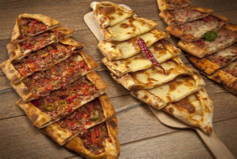 pide pastry with either minced cheese or minced and cheese is a traditional turkish