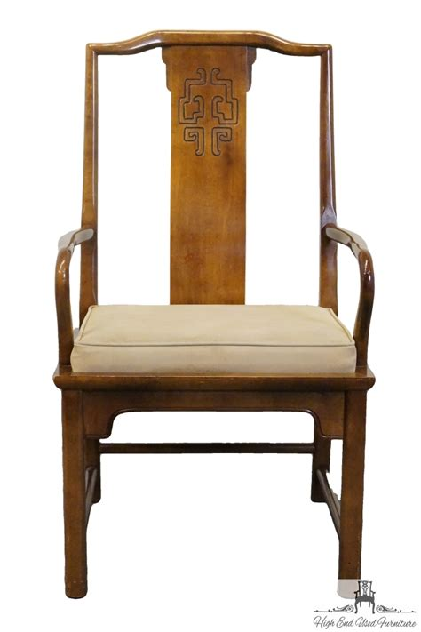 Century Furniture Dining Chairs High End Used Furniture Century Furniture Chin Hua Asian Dining Arm Chair 541 511