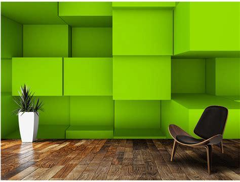green tv wall for living room download 3d house aliexpress com buy custom 3d wallpaper 3d blocks