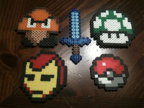 how to make things out of perler random perler bead update