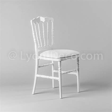 chaise napoleon blanche location chaise napoleon 3 blanche idale pour gala ou