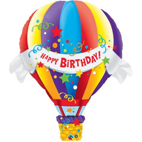 qualatex  birthday hot air balloon  category birthday balloons balloonmalaysiacom