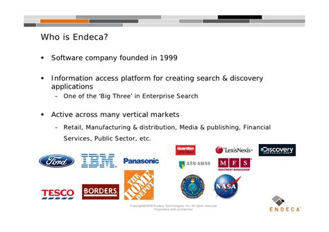 endeca pattern library ui design patterns for search information discovery