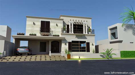 2 kanal lahore pakistani house design 1 kanal pakistani house 3d front elevation com 1 kanal spanish house design plan