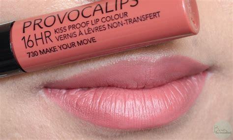 Make Lipstick Review Dan Harga rimmel provocalips lipstick make your move beige