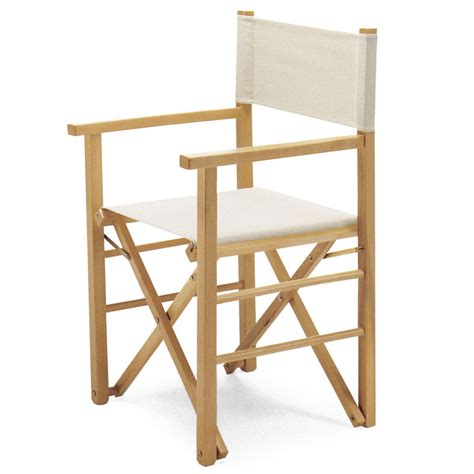 sedia da regista sedia regista in legno di faggio regista p mc arredas 236