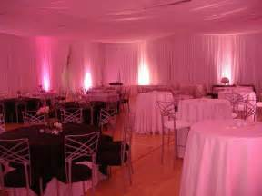 draping with lights on wall reception pinterest