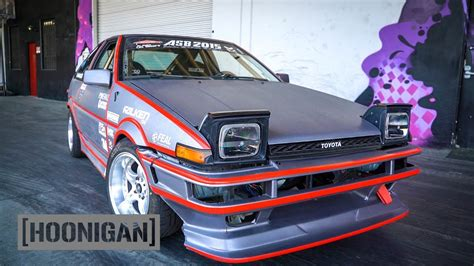 hoonigan drift cars hoonigan dt 148 electric toyota ae86 drift car