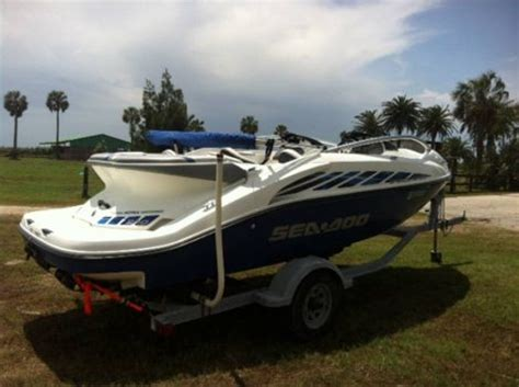 2005 sea doo bombardier boat 2005 20 foot sea doo bombardier power boat for sale in