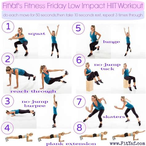 25 best ideas about low impact workout on low