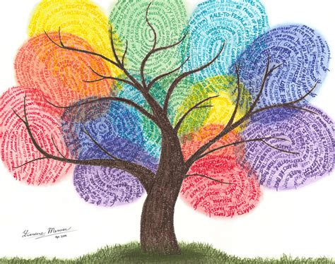 biometric art fingerprint tree original artwork edmonton ab canada