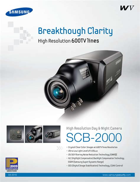 Cctv Samsung Scb 2000 free pdf for samsung scb 2000 security manual