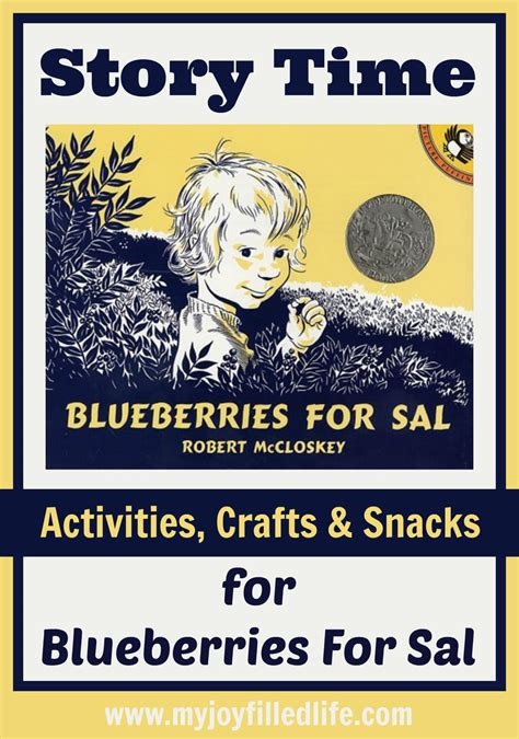 blueberries for sal blueberries for sal story time activities my