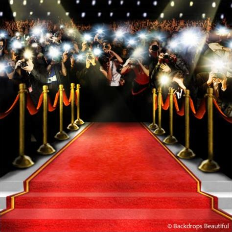 How The Get Glammed Up For Oscars by Backdrops Beautiful Painted Scenic Backdrop Rentals
