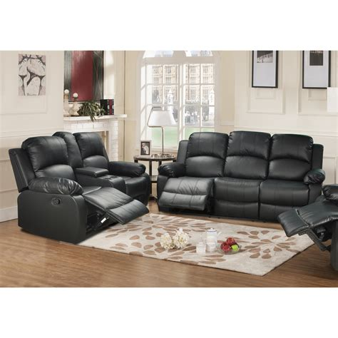 amado 3 reclining living room set beverly furniture amado 2 leather reclining