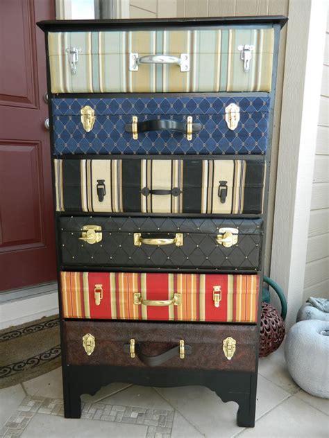 suitcase dresser creative diy ideas with suitcase hative