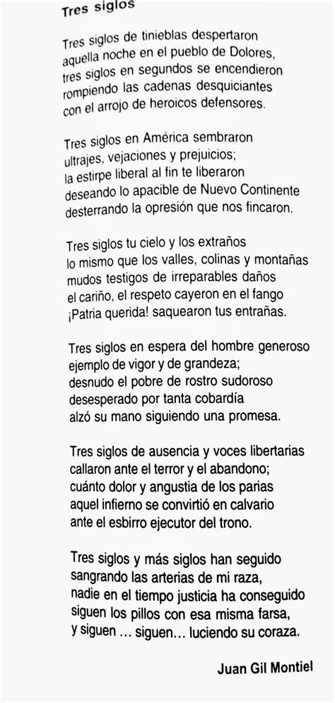 poemas de mexico poes 237 a de la independencia de m 233 xico tres siglos