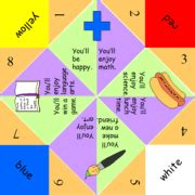 What To Write Inside A Paper Fortune Teller Back To School Fortune Teller