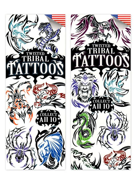 twisted tribal tattoos buy twisted tribal 2 tattoos for vending machines