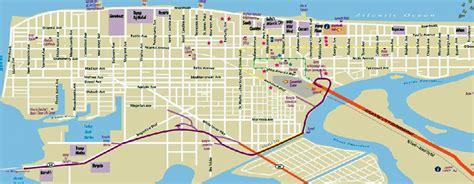 atlantic city map atlantic city boardwalk map my