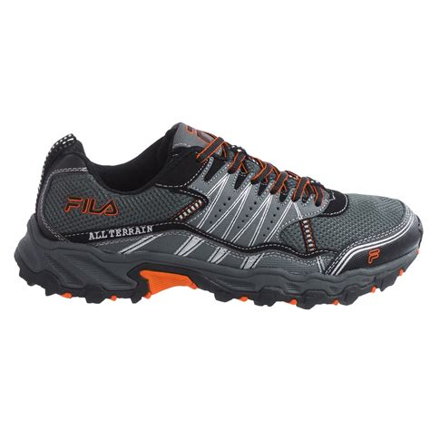 fila trail running shoes fila at tractile trail running shoes for save 57