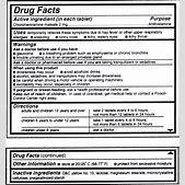 Drug Facts: Und...