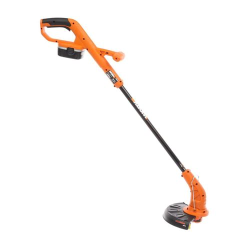 worx    volt ni cd electric cordless grass trimmer