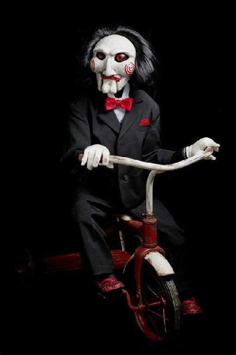life size autographed billy jigsaw puppet