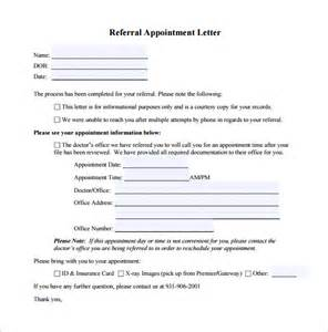 Appointment Letter Format Of Doctor Doctor Letter Template 13 Free Sample Example Format