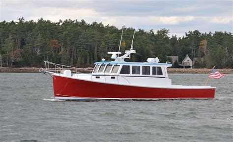 maine fishing boat builders just launched pleasure boats from sw boatworks custom