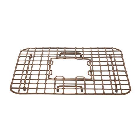 copper farmhouse sink grid sullivan copper kitchen sink bottom grid by sinkology