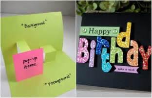 10 cool handmade birthday card ideas 2happybirthday