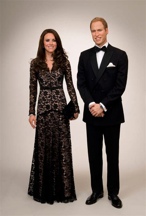 Wax Kate Unveiled by Will Kate Waxworks Unveiled Around The Globe Etcanada