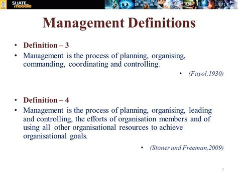 manager description principles of management and applied economics ppt