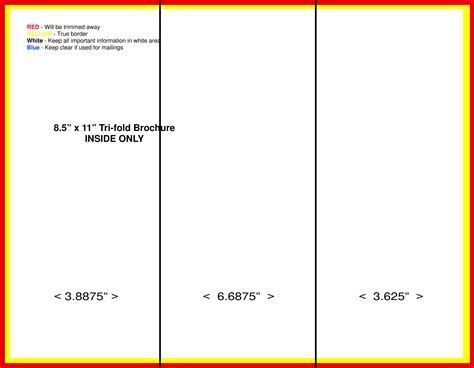 tri fold brochure vector template download free vector art stock