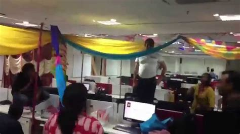 bay decoration competition at mumbai office time lapse