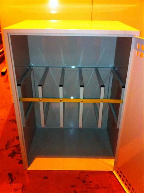 Gas Bottle Storage Cabinet Lockable Gas Cylinder Storage Cabinets