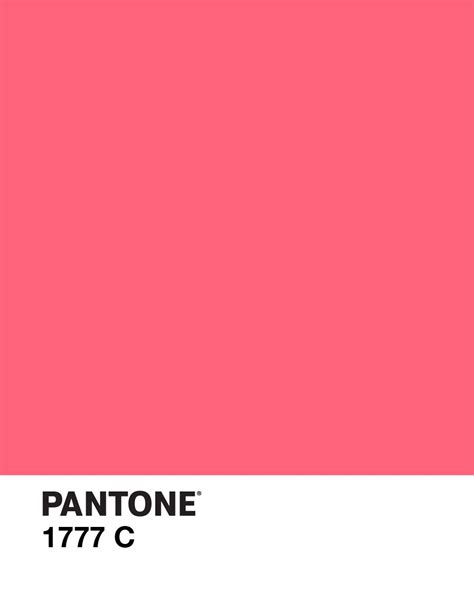 pink pantone pantone 1777 c design color pink rasberry pantones