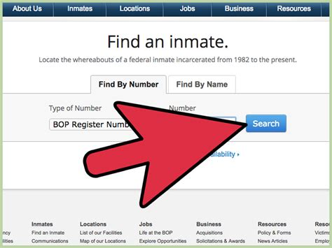 Federal Inmate Records How To Use The Federal Inmate Locator 7 Steps With Pictures